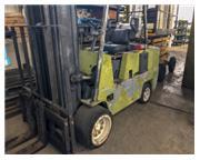 "10000 lb. Clark # C500-100 , forklift, propane, 223"" lift, 60"" L x 6"" W for"