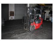 """4500 lb. Toyota # 7FUGCU25 , forklift, propane, 89"""" lift, 42"""" x 5"""" forks, #"""