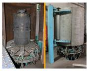 """360 Ton, Grotnes circumferential hydraulic heated ring expander, 60"""" x 48"""" x3/8&"""