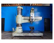 """6.5'-19"""" Ooya # RE3-2000 , power elev.-clamp., box table, 20-2180 RPM, 10 HP, #6818"""