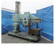 """6'-15"""" American # 05X15 , radial arm drill, work table, power elevation & clamping, #"""