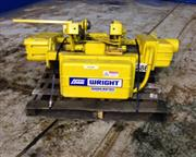 1 Ton, Acco - Wright # X1WO2 , electric crane hoist & trolley, 1500 lb., 2-drums, wire rop