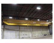 20 Ton, Demag #DZ8304, 100' Span, class C, double girder top running, 32' under hook, #645
