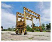 40 Ton, Drott Mi-Jack # TRAVELIFT-800 , straddle mobile gantry crane, 42.3' W, #6911
