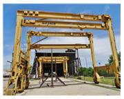 40 Ton, Drott Mi-Jack # TRAVELIFT-800 , straddle mobile gantry crane, 42.3' W, #6910