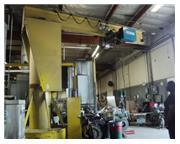 """5 Ton, Phoenix Shaw-Box #WBM05S20, jib crane & hoist, 206"""" under hook, 180"""" trol"""