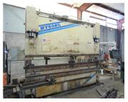 "140 Ton, Wysong & Miles # F88-140-144 , CNC hydraulic press brake, 12' OA, 126"" BH, 2"