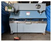 "135 Ton, Atlantic # HDSY135-10-8 , CNC 3-Axis hyd press brake, 10' OA, 102"" BH, 1989,"