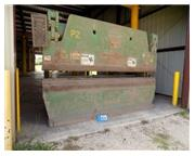 "250 Ton, Accurpress # 25012 , hyd press brake, 12' OA, 124"" BH, 8"" stroke, 20 HP"