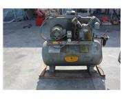 18 cfm, 125 psi, Ingersoll-Rand # T-30/5TM , air compressor, 60 gallon tank, #8021
