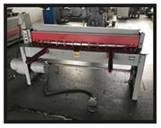 "FAMCO MECHANICAL SHEAR,1472,72"" x 14ga.,85 SPM, 5 H.P.,2- frnt supprt arms"