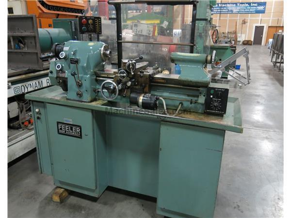 Feeler Model FTL-618E High Precision (HLVH Type) Toolroom Lathe, New 1985