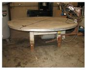 "12000 lb. Aronson # FT1-205 , welding positioner, 86"" table, #6881P"