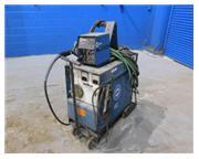 Miller # CP-300 , mig welder, 300 amps, 230/460 V., hand gun, cart, #7058PC