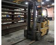 10000 lb. Caterpillar # TC100D , forklift, propane, side shift, auto transmission, #6365P