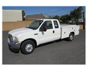 2003 Ford F-350 XLT Extended Cab 9 ft. Utility / Service Truck CARB OK