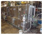 Midbrook / Hurricane, all Stainless Steel, 5-stage, 24x24 open, gas, hot wash, rinse B/O,