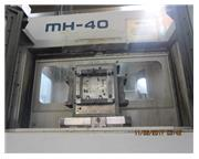 Mori-Seiki # MH-40 , 5-Axis, twin pallet, 15.75 x 15.75, Fanuc MF-M6, 40 ATC, 10k RPM, low