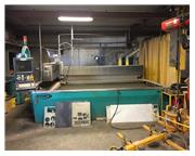 Techni TJ3000-X2 CNC Abrasive Water Jet Cutting System