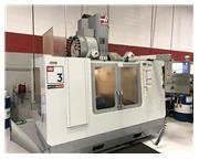 "40"" X Axis 26"" Y Axis Haas VM3 VERTICAL MACHINING CENTER, Haas Control, 24 ATC,"