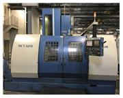 "57"" X Axis 29.5"" Y Axis Dahlih MCV-1450 VERTICAL MACHINING CENTER, Fanuc 21M Cnt"