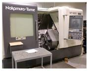 NAKAMURA TOME WT-300MMYS,TWIN TURRET,Y-AXIS,SUB-SPINDLE,FANUC-31IB,NEW-2012
