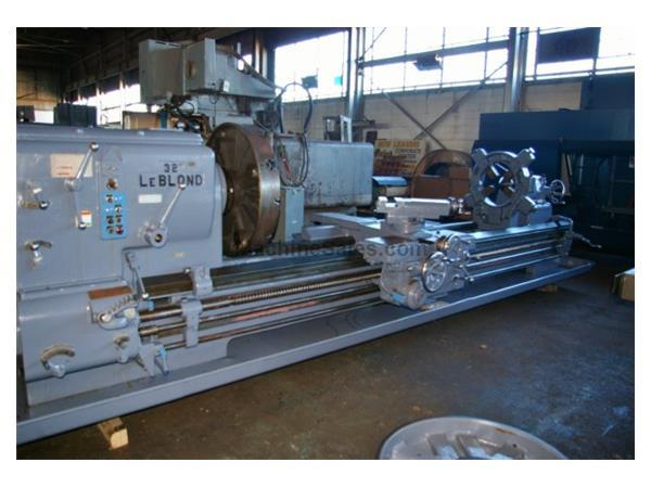 "38"" X 144"" LEBLOND MODEL 32"" HEAVY DUTY ENGINE LATHE"