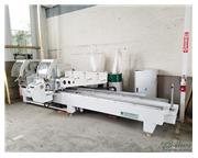 "19"" x 165"" Jinpu # LJJ2AS-500X4200 , double miter semi-auto sliding saw, #C5129"