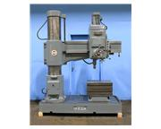 "4.5' Arm Lth 13"" Col Dia Ikeda RM1300 RADIAL DRILL, Power Elevation  Clamping, 5 HP,#"
