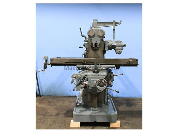 "60"" Table 7.5HP Spindle Brown  Sharpe 3A UNIVERSAL MILL, Arbor Support,Universal Milling Head,Coolant.7.5HP"