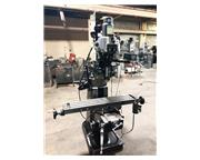 "48"" Table 2HP Spindle Bridgeport Series I VERTICAL MILL, Vari-Speed,AcuRite DRO,Servo"