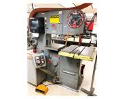"36"" Throat 12"" Height DoAll 3612-3 VERTICAL BAND SAW, Vari-Speed, Hyd Table Feed"