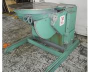 5000Lb Cap. Ransome 50P-A WELDING POSITIONER, Powered Tilt and Rotation