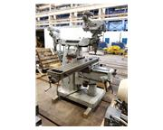 """BRIDGEPORT Series II Special, 11"""" x 58"""" Table, DRO, Shaping Attch"""