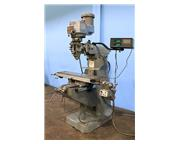 "42"" Table 2HP Spindle Bridgeport SERIES I VERTICAL MILL, Vari-Speed,Chrome,Mitutoyo D"