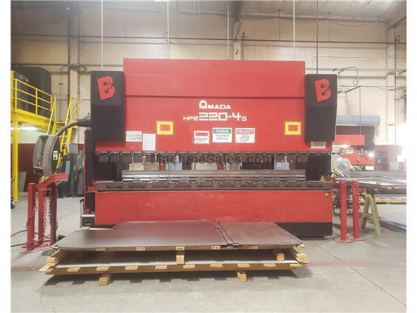 Used 242 Ton Amada HFE-2204 CNC Press Brake for sale - 138786
