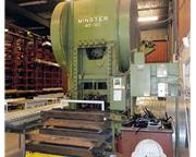 300-Ton Minster Model 40-10½ Straight Side Double Crank Press