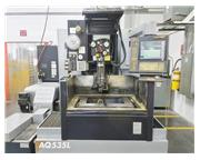 SODICK AQ535L, 2004, LN 1W CNC, AWT, LINEAR MOTOR, SUBMERSIBLE MACHINING