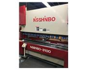 172 TON NISSINBO NSB 160-3100, PAL-510, MFG:2001