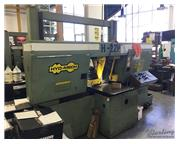 "22"" x 22"" Hyd-Mech # H-22P , automatic dual post, horiz. band saw, multi-indexin"