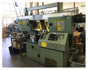 "18"" x 18"" Hyd-Mech # H-18P , automatic dual post, horiz. band saw, multi-indexin"
