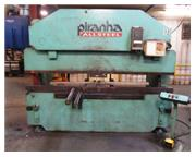 "95 Ton, Piranha # 9510 , CNC Hydraulic Press Brake, 10' OA, 8'6"" BH, #8261HP"