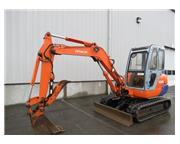 Hitachi EX40 Hydraulic Mini Excavator Heated