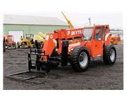 Skytrak JLG 10042 10K 4x4 Telehandler Reach Forklift Cab Heat Aux Hydraulic