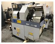 "0.625"" Dia. Star SA-12/16 CNC SWISS TYPE LATHE, Fanuc 18iT, Live Tool, Subspindle"