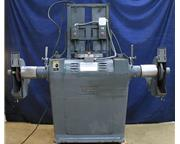 7.5HP Motor 2Hd Heads Hammond 7-VRRO-C, INDEPENDENT VARIABLE SPEED SPINDLES BUFFER POLISHE