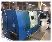 "Femco HL-35M CNC LATHE, Fanuc 18T, 10""chk. Live Tool, Tailstck, Chip Conv."