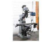 "48"" Table 2HP Spindle Bridgeport Series I VERTICAL MILL, Vari-Speed, Acurite DRO,B'po"