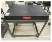 "36"" x 24"" x 4"" Precise Granite #E-38 Surface Plate, Stand & Casters, #8279H"