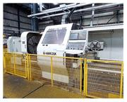 """Hankook Protec 13ND 51"""" x 196"""" Flat Bed CNC Hollow Spindle Lathe,"""